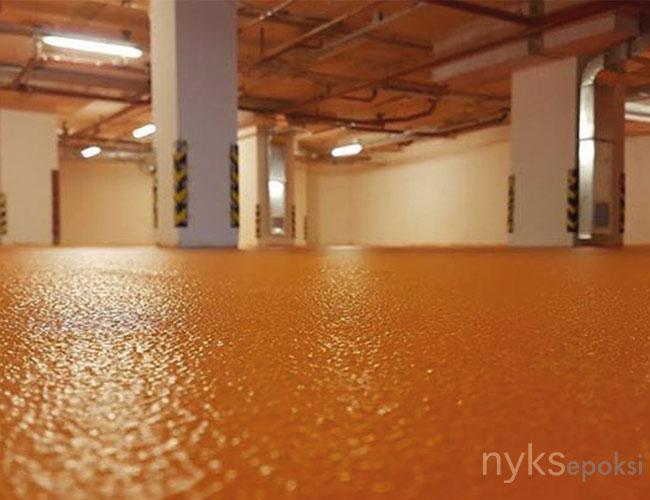 portakal kabuğu epoksi zemin kaplama